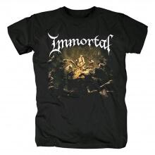 Immortal Tee Shirts Norway Black Metal Punk Rock T-Shirt