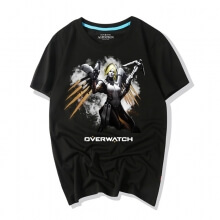 Ink Print Mercy T-Shirt Overwatch Shirt