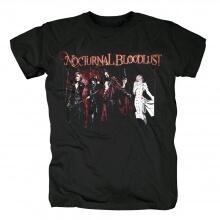 Japan Metal Rock Band Tees Nocturnal Bloodlust T-Shirt