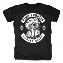 King Kerosin In Speed We Trust T-Shirt Hard Rock Graphic Tees