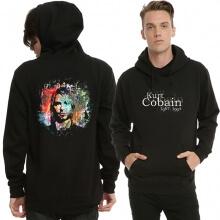 Kurt Cobain Black Pullover Hoodie Cool