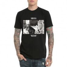 Kurt Cobain Never Mind Black T Shirt
