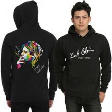 Kurt Cobain Rock Sweatshirt Mens Black Hoodie