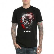 Lebron James Basketball Tshirt Black