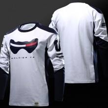 Limited Editon Overwatch Soldier 76 Long sleeve T-shirt