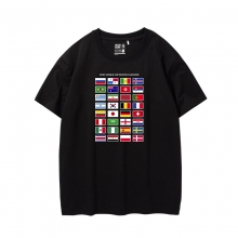 Limited Editon Russia 2018 World Cup T-shirt Soccer national team flag Tee