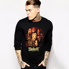 Long Sleeve Slipknot T-Shirt Cool