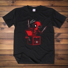Lovely Deadpool Tshrit Black XXL Tee for Men
