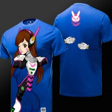 Lovely Dva T-shirt Blizzard Overwatch Quality Unisex Tee