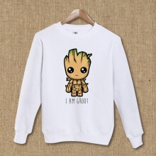 Lovely Guardians Of The Galaxy Characters Groot Hoodie