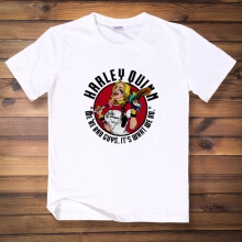 Lovely Harley Quinn T Shirt Black Mens Tee