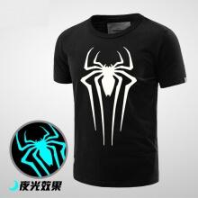 Luminous Spiderman Birthday T Shirt for Men Boy