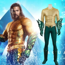 Superhero Aquaman Cosplay Costumes Justice League Arthur Curry Cosplay