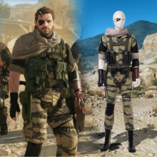 Game Metal Gear Solid Snake Cosplay Costume