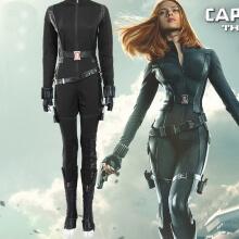Black Widow Costume Avengers Captain America Cosplay Costume