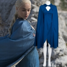 Quality Daenerys Targaryen Cosplay Costume Khaleesi Dress