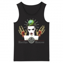 Marilyn Manson Tank Tops Us Metal Rock Sleeveless Shirts