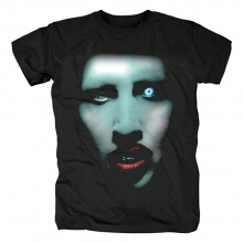 Marilyn Manson Tee Shirts Us Metal Rock Band T-Shirt