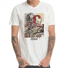 Marvel Avengers Age of Ultron Characters T-shirt