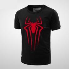 Marvel Spiderman T Shirt Men Boy Black Tee