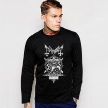 Mayhem Band T-shirt Punk Style Long Sleeve Tee