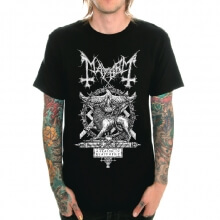 Mayhem Band Tshirt Death Metal Tee for youth
