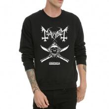 Mayhem Heavy Metal Band Hoodie Crew Neck