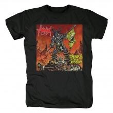 Metal Graphic Tees Hirax Thrash And Destroy T-Shirt