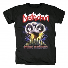 Metal Graphic Tees Personalised Destruction Band Eternal Devastation T-Shirt