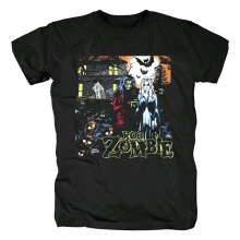 Metal Rock Band Tees Cool Rob Zombie T-Shirt