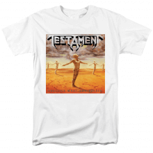 Metal Rock Graphic Tees Cool Testament Practice What You Preach T-Shirt