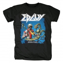 Metal Rock Graphic Tees Edguy Band T-Shirt