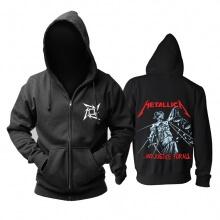 Metallica And Justice Forall Hoodie Us Metal Music Sweatshirts