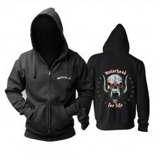 Motorhead For Life Hoody United Kingdom Metal Rock Hoodie