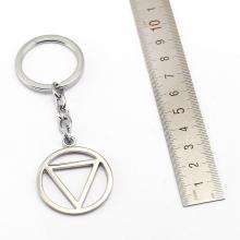 Naruto Circle and Triangle Key Rings