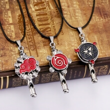 Naruto Rotating Whistle Necklace