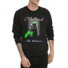 Nightwish Crew Neck Black Sweatshiet for Men