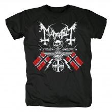 Norway Metal Rock Graphic Tees Cool Mayhem T-Shirt
