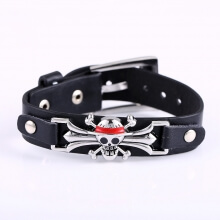 One Piece Anime Straw Hat Pirates Logo Bracelets