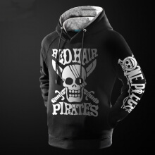 One Piece Red Hair Pirates Hoodie