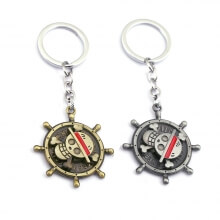 One Piece Rotating Pirates Skull Key Holder