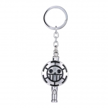 One Piece Trafalgaro Whistle Key Chain Pendant