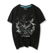 Overwatch Characters Darkness Mccree T-Shirt