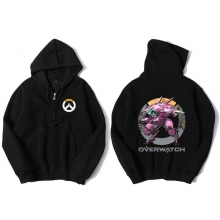 Overwatch D.Va Sweater Mens Black Hoodies