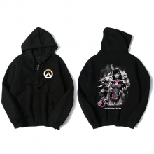 Overwatch D.Va Sweatshirt Men Black Hoodies