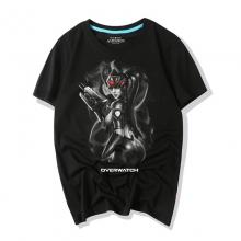 Overwatch Game T-Shirt Widowmaker Shirts