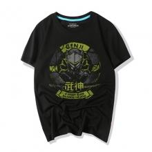 Overwatch Game T-Shirts Genji Shirts