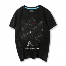 Overwatch Game Tee Shirts Darkness Reaper Shirts