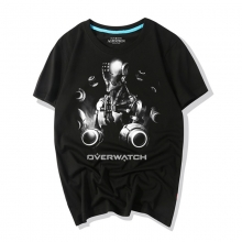 Overwatch Game Tees Darkness Zenyatta Shirts