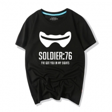 Overwatch Game Tshirts Soldier 76 Shirts